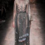 Неделя моды в Париже.  Коллекция Valentino сезона весна-лето 2015 года.