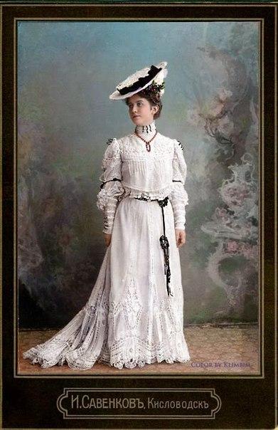 Платья конец 19 начало 20 века