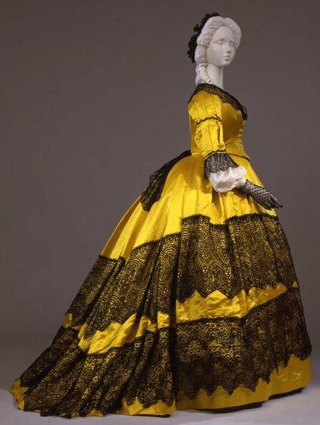 1860 платья