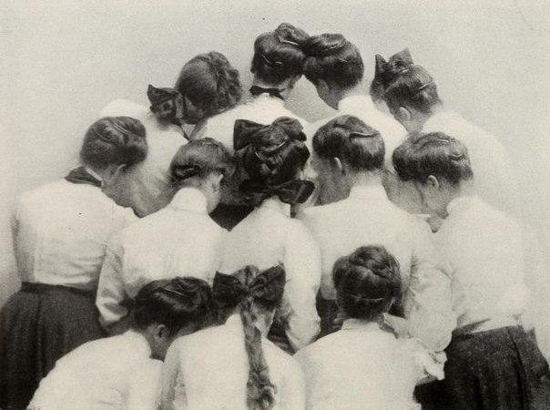прически в начале 20 века фото
