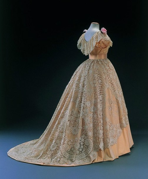 мода 1850 х годов платья