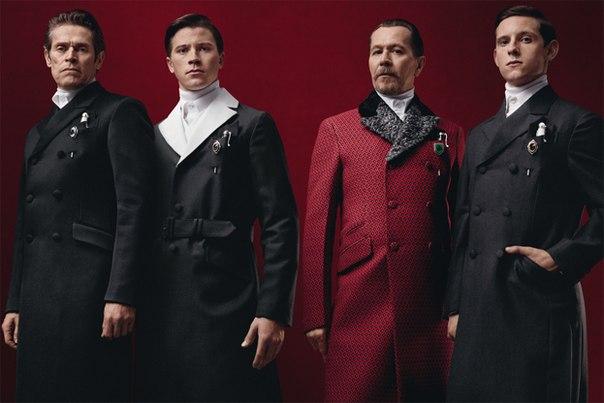 Викторианский стиль мужской одежд